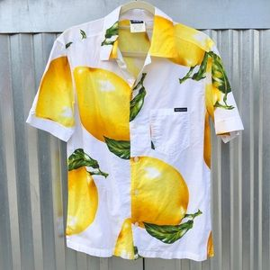 Dolce and Gabbana lemon print button down